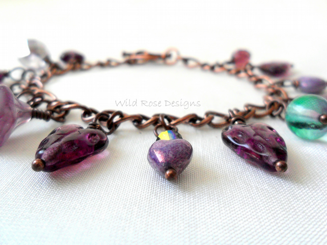 Purple bracelet - Reserved for Vanessa