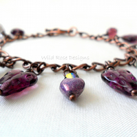 Purple bracelet - Sale item!