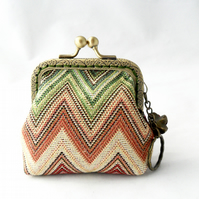 Double sided coin purse
