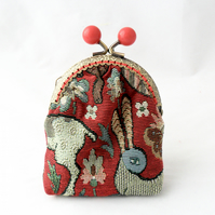 Red bobble coin purse