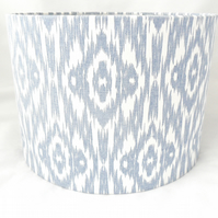 Contemporary blue lampshade