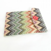 Multi-coloured iPad mini case