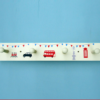 London Design, Coat Rack with London Icon design