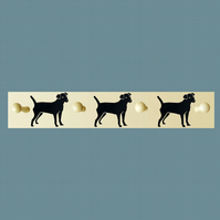 Patterdale Terrier Coat Rack
