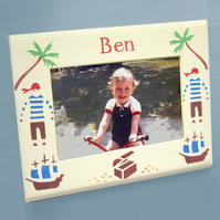 Jolly Pirates, Personalised Photo-Frame