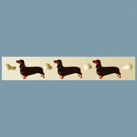 Dachshund Coat Rack