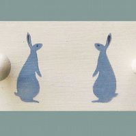 Rabbit Clothes Rail for Nursery.