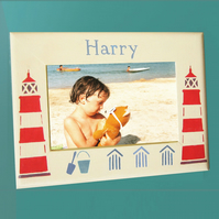 Personalised Photo-Frame With Lighthouses