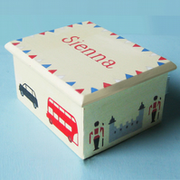 London Icons Keepsake Box, New Born Gift