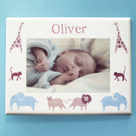 Noah's Ark Photo-Frame, New Born Gift