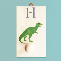 Dinosaur, Personalised Clothes Peg