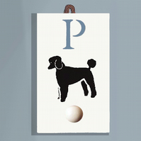 Poodle Coat Hook