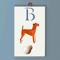 Irish Terrier Coat Hook