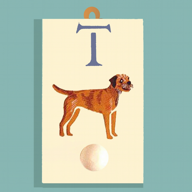 Border Terrier Coat Hook