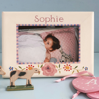 Gypsy Rose, Personalised Photo-Frame.