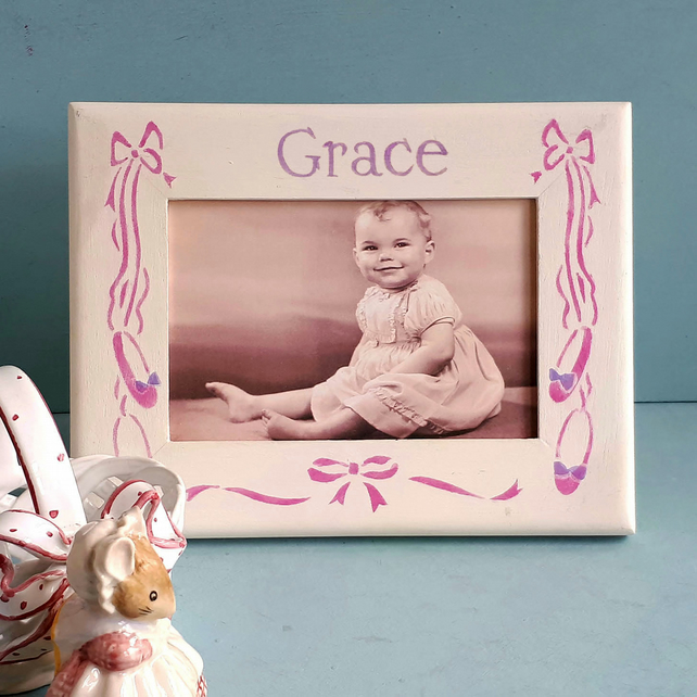 Ballet Theme Personalised Photo-Frame