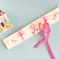 Ballet Theme Coat Rack, Nursery Decor