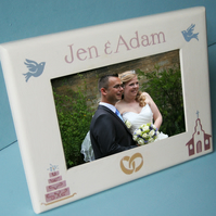 Personalised Wedding Photo-frame