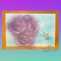 Handmade Card Beauty Comes From Within