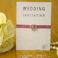 Handmade Card Wedding Invitation, Order Of Service, Evening Invitation EmbDel