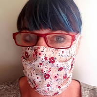 2 Ply Facemask- 5 Designs-Cotton Print Face Mask-Fashion Mask-Reusable Face Mask