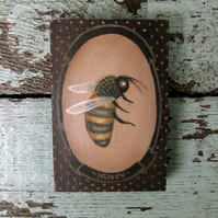 Pocket Painting: Bumble Bee