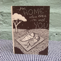 I'm Home...*Greeting Card*