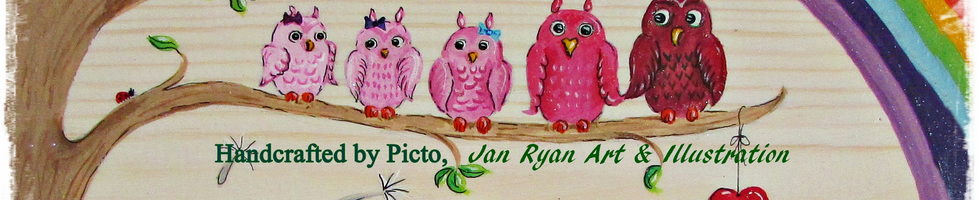 Handcrafted by Picto, Jan Ryan Art & Illustration