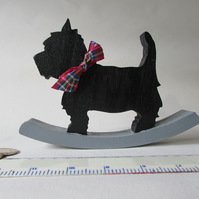 Westie Dog wooden ornament