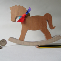 Pony, Wooden Pony, Rocking Horse