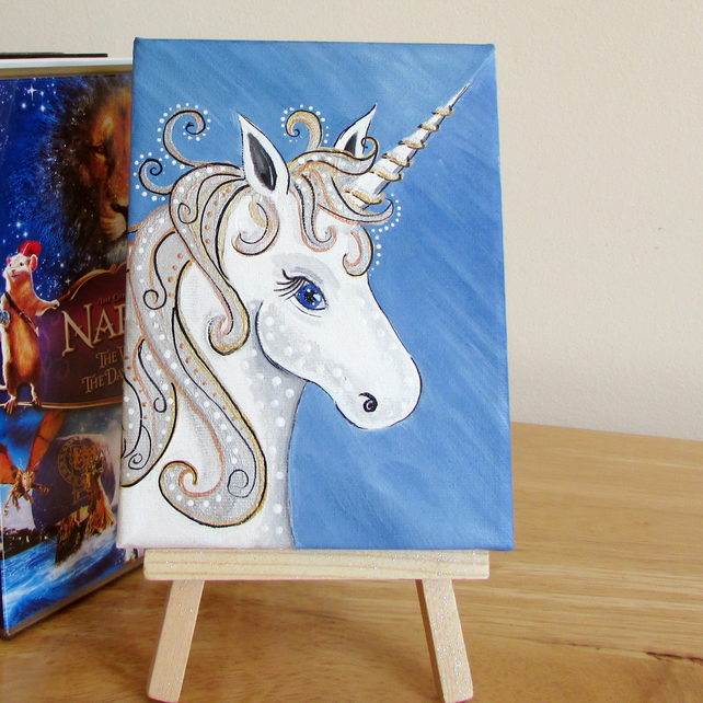 Unicorn Canvas, Shelf or Wall Art