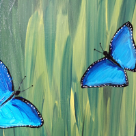 Butterflies - Original painting