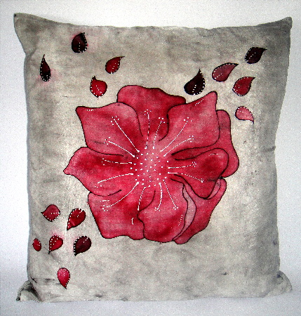 Silk comfy cushion