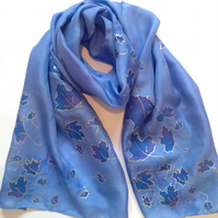 Luxe Silk Scarf 40 x 150 cm
