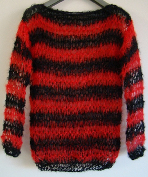 Dennis The Menace Holey Mohair Jumper Steampu Folksy