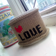Custom Order for lyndyloopy : Personalised Coffee Mug Cosy