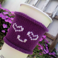 Coffee Cosy : Coffee Cozy - perfect for Valentines Day