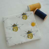Sewing Needle Case Bumble Bee