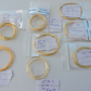 Gold Plated Sterling Silver Jewellery Wire - Mixed Lot