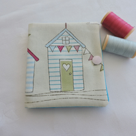 Sewing Needle Case Beach Hut