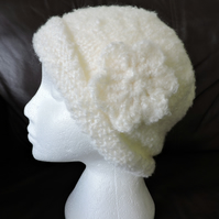 Beanie Hat Winter White