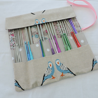 Knitting Needle and Crochet Hook Roll