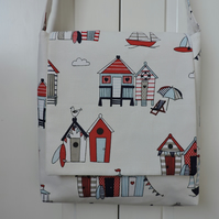 Messenger Style Handbag Seaside Theme