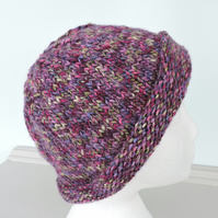 Beanie Hat Adults Chunky Knit