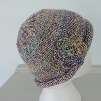 Beanie Hat for Adults Hand Knitted