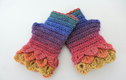 Dragon Scale Cuff Mitts