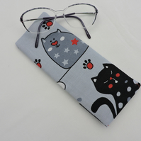 Glasses Case  Comical Cats