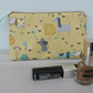 Make Up Bag, Purse, Zipped Pouch