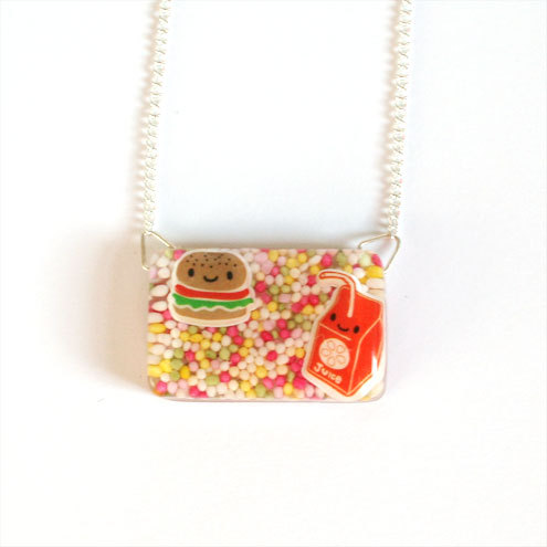 *SALE* Fast Food - Resin Necklace