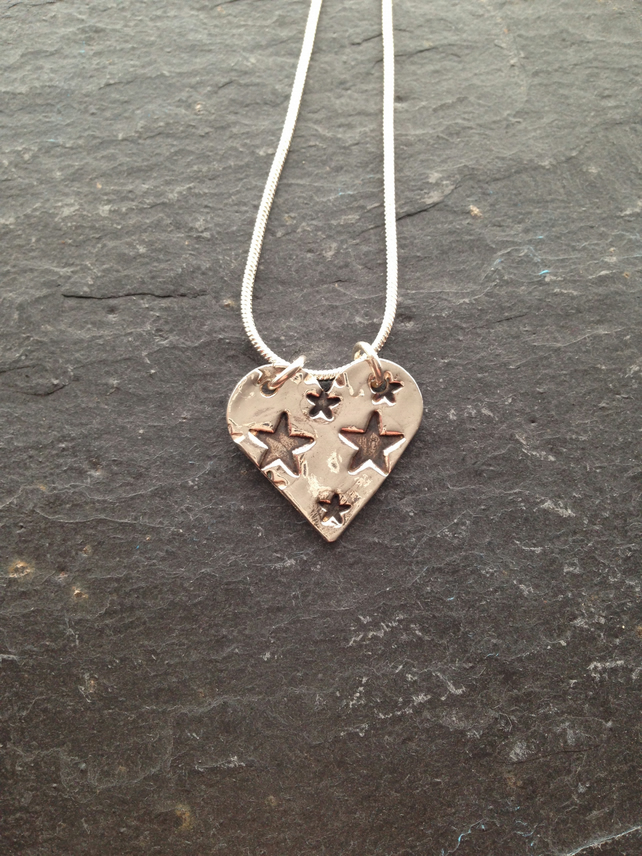 Love for the stars pendant